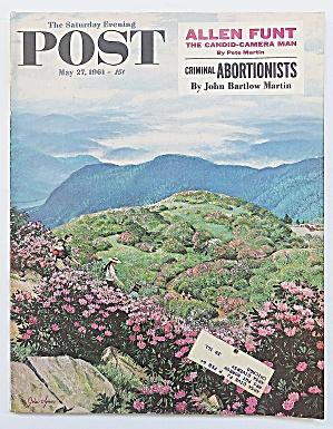 Saturday Evening Post May 27, 1961 Allen Funt (Image1)