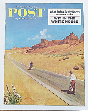 Saturday Evening Post September 2, 1961 Africa
