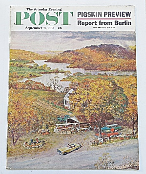 Saturday Evening Post September 9, 1961 Berlin