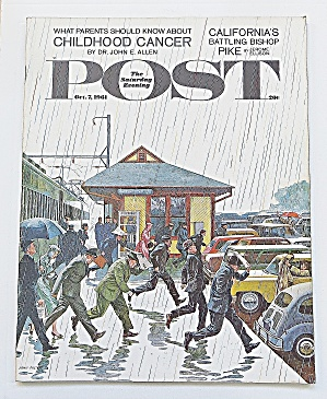Saturday Evening Post October 7, 1961 Cancer