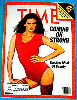 Time Magazine-august 30, 1982-coming On Strong: Beauty