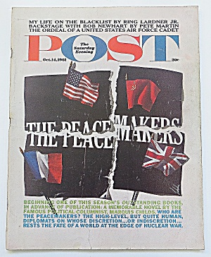 Saturday Evening Post October 14, 1961 Peace Makers