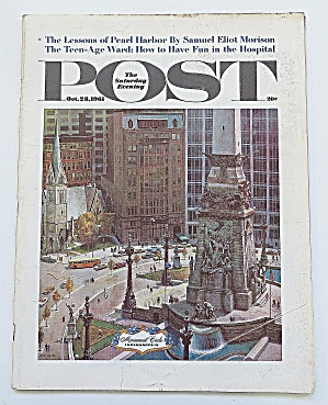 Saturday Evening Post October 28, 1961 Pearl Harbor