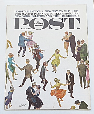 Saturday Evening Post November 4, 1961 Hospital