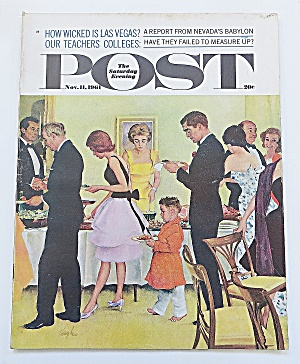 Saturday Evening Post November 11, 1961 Las Vegas