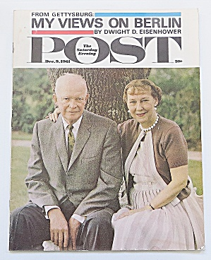 Saturday Evening Post December 9, 1961 Eisenhower