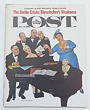 Saturday Evening Post December 16, 1961 Berlin Crisis