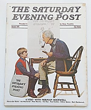 Saturday Evening Post Summer 1971 Norman Rockwell