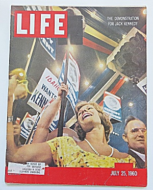 Life Magazine July 25, 1960 Jack Kennedy