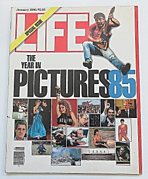 Life Magazine January 1986 Year In Pictures 1985 (Image1)