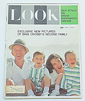 Life Magazine July 17, 1962 Bing Crosby