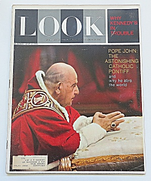 Look Magazine July 2, 1963 Pope John