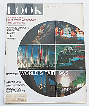Look Magazine April 20, 1965 World's Fair 1965