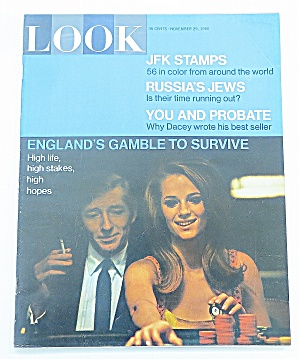 Look Magazine November 29, 1966 Englands Gamble