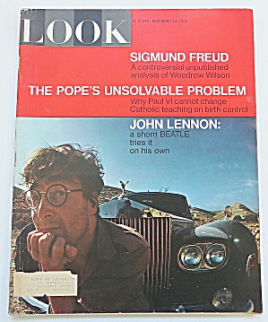 Look Magazine December 13, 1966 John Lennon