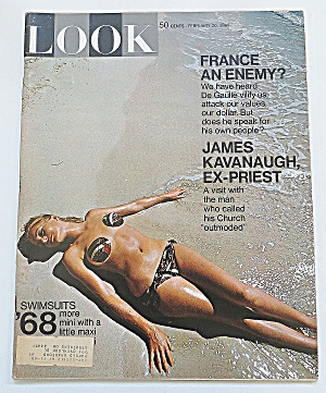 Look Magazine February 20, 1968 Swimsuits