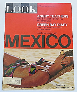 Look Magazine September 3, 1968 Mexico