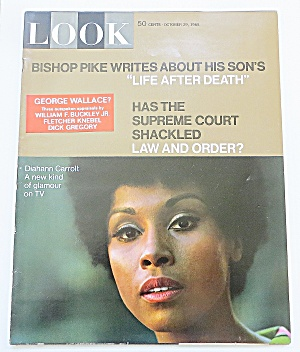 Look Magazine October 29, 1968 Diahann Carroll