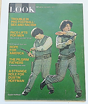 Look Magazine December 1, 1970 Dustin Hoffman