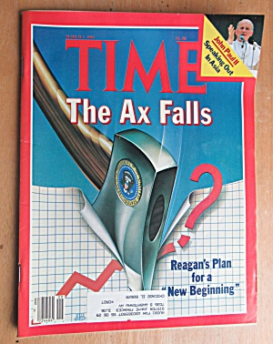 Time Magazine-march 2, 1981-ax Falls & John Paul Ii