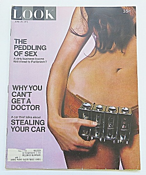 Look Magazine June 29, 1971 Peddling Sex