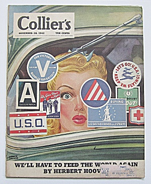 Collier's Magazine November 28, 1942 Herbert Hoover