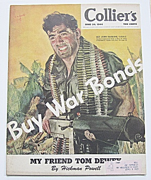 Collier's Magazine June 24, 1944 Tom Dewey
