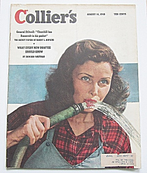 Collier's Magazine August 14, 1948 General Stilwell