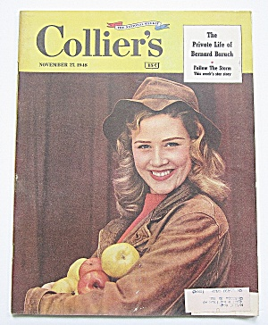 Collier's Magazine November 27, 1948 Bernard Baruch