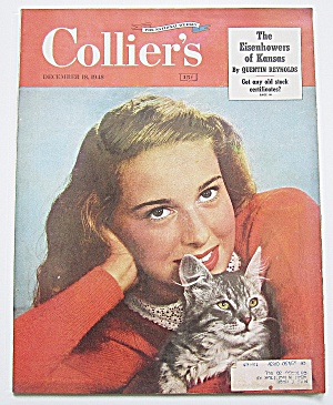 Collier's Magazine December 18, 1948 Eisenhower's