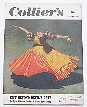 Collier's Magazine January 28, 1950 City Beyond