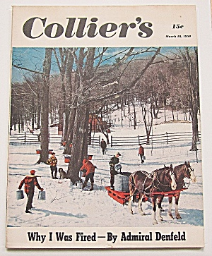 Collier's Magazine March 18, 1950 Admiral Denfeld
