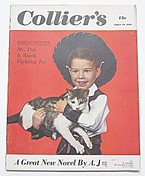 Collier's Magazine August 19, 1950 Mr. Pak