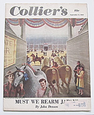 Collier's Magazine September 9 1950 Must We Rearm Japan