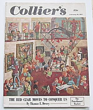 Collier's Magazine February 10, 1951 Red Czar