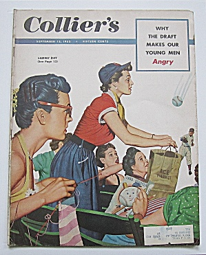 Collier's Magazine September 13, 1952 The Draft