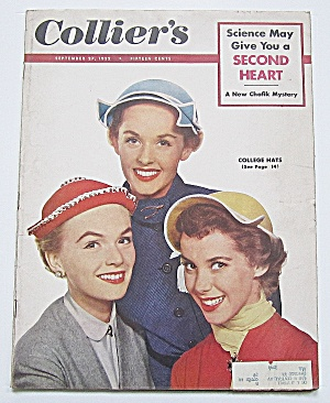 Collier's Magazine September 27, 1952 College Hats