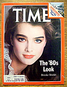 Time Magazine-february 9, 1981-brooke Shields