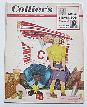 Collier's Magazine July 25, 1953 Adlai Stevenson