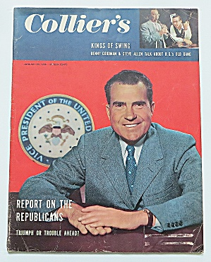 Collier's Magazine January 20, 1956 Richard Nixon