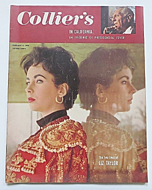 Collier's Magazine February 3, 1956 Liz Taylor