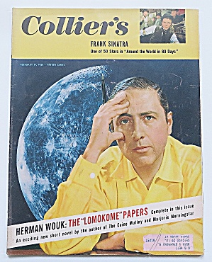 Collier's Magazine February 17, 1956 Herman Wouk