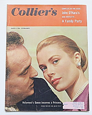 Collier's Magazine March 2, 1956 Grace Kelly