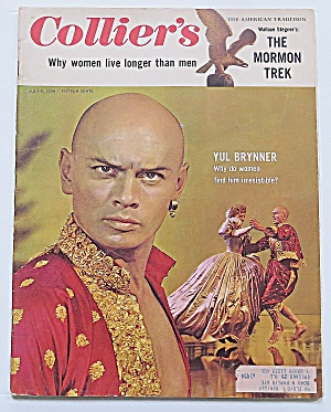 Collier's Magazine July 6, 1956 Yul Brynner