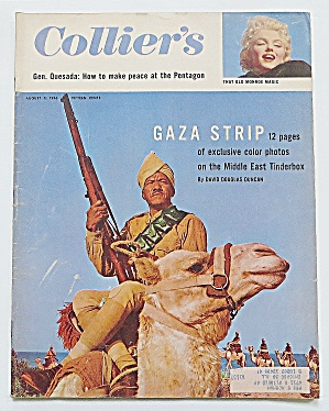 Collier's Magazine August 3, 1956 Gaza Strip
