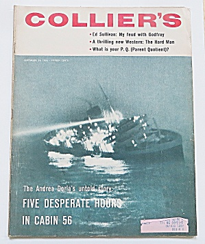 Collier's Magazine September 28, 1956 Cabin 56