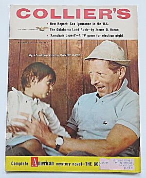 Collier's Magazine November 9, 1956 Danny Kaye