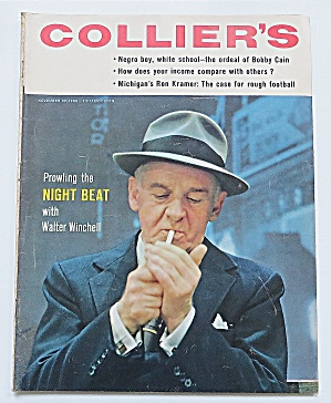 Collier's Magazine November 23, 1956 Walter Winchell