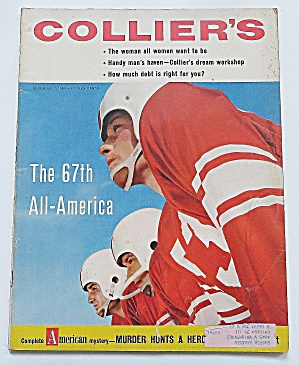 Collier's Magazine December 7, 1956 67th All America