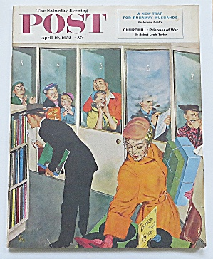 Saturday Evening Post April 19, 1952 Churchill